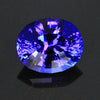 Exceptional Color Oval Tanzanite Gemstone 5.25 Carats