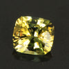 Yellow Antque Cushion Tanzanite  Gemstone 1.74 Carats