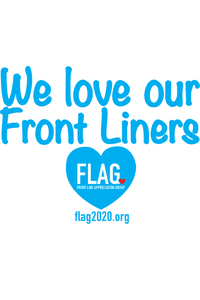 Front Line Sign - 10 PACK