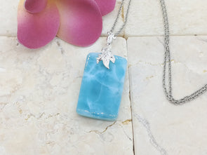 Larimar AAA like jelly pendant