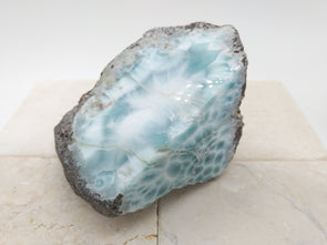 Larimar beautiful rough stone
