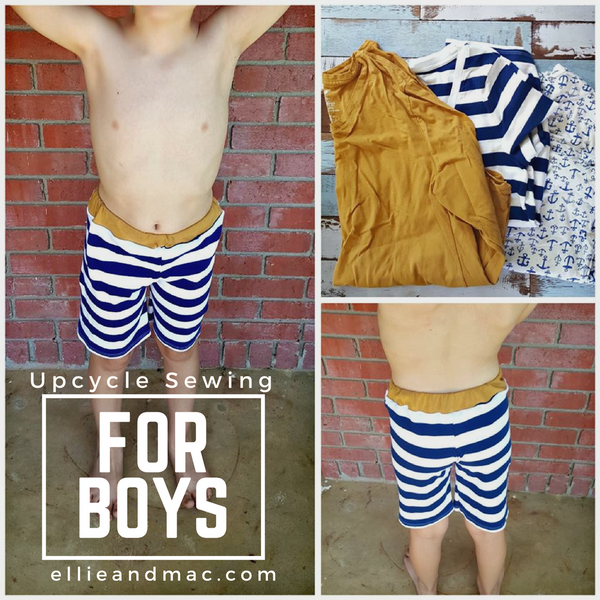 Upcycle Sewing For Boys