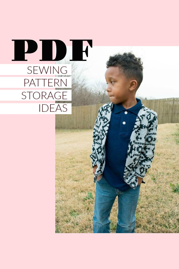 PDF Sewing Pattern Storage Ideas