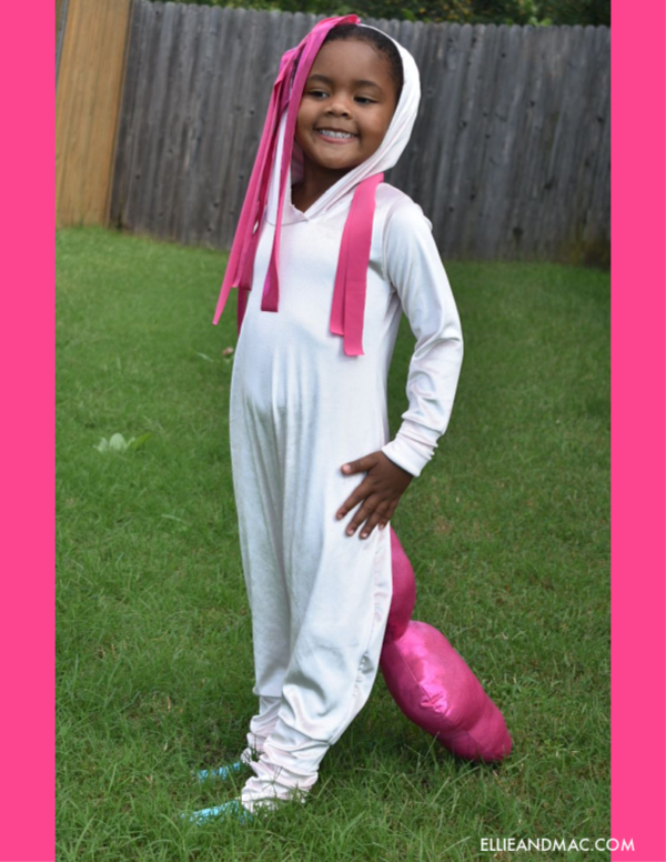 Make a Pinkie Pie Halloween Costume Using The Beatbox Romper Pattern
