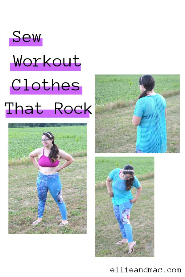 Sewing Workout Clothes That Rock