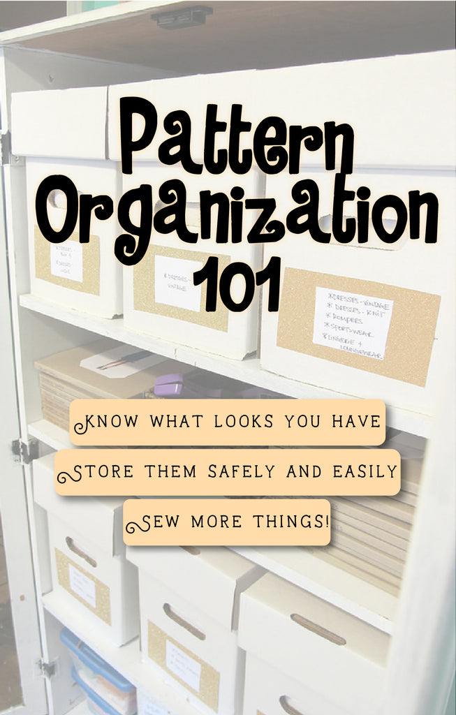 How to Organize Your Sewing Patterns