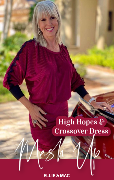 High Hopes Dolman & Crossover Dress Mash-Up
