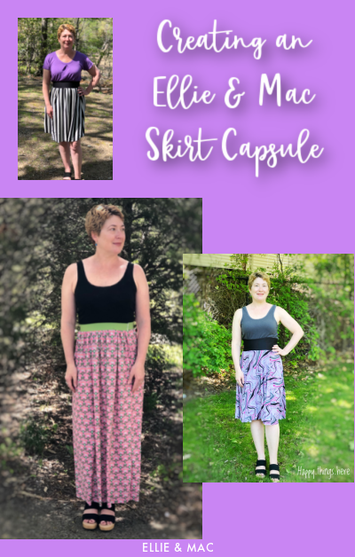 Creating an Ellie & Mac Skirt Capsule
