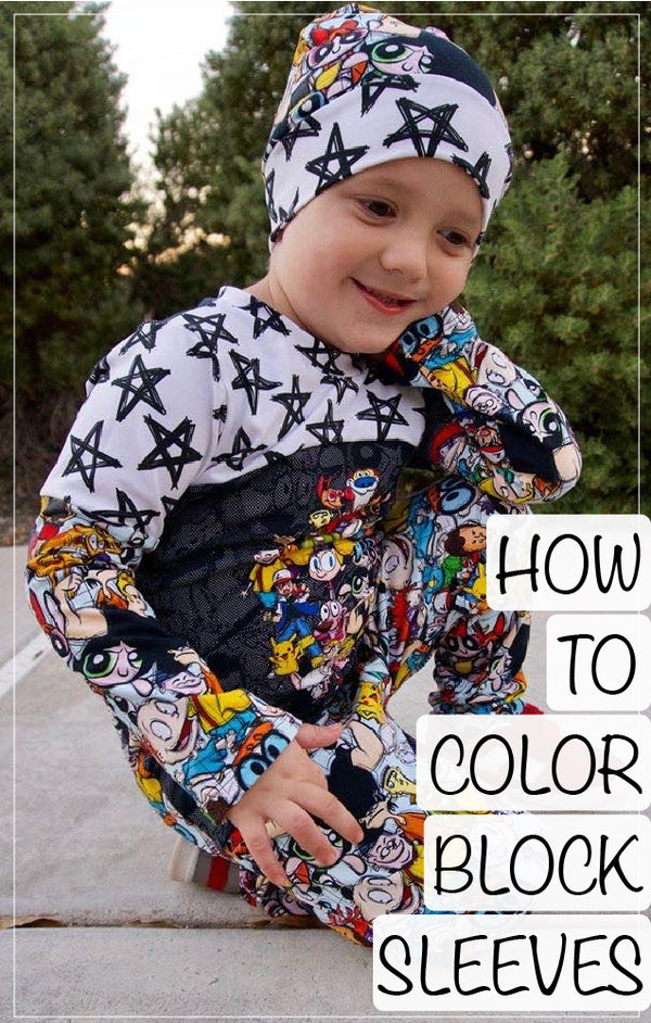 How To Colorblock A Sleeve