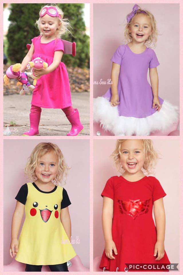 Easy Costume Creations Using Ellie and Mac Sewing Patterns