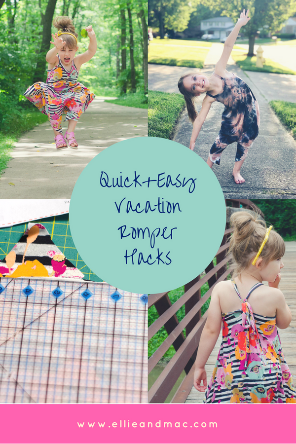 Quick & Easy Vacation Romper Hacks