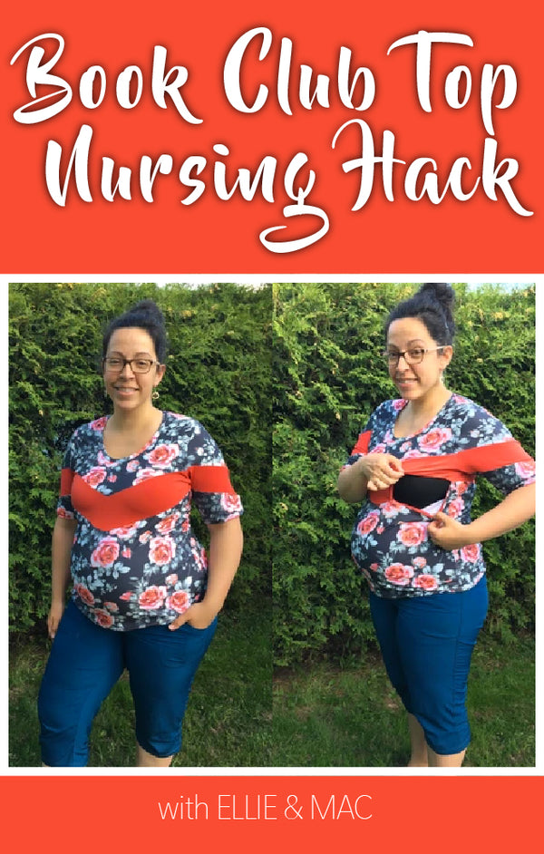 Bookclub Top Maternity Hack