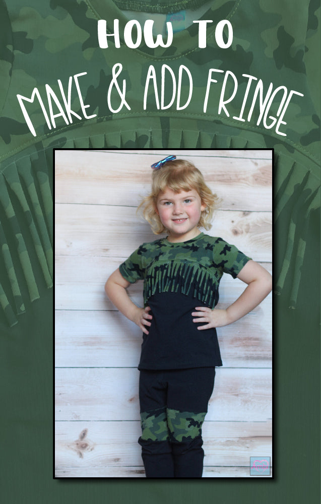 How To: Make and Add Fringe
