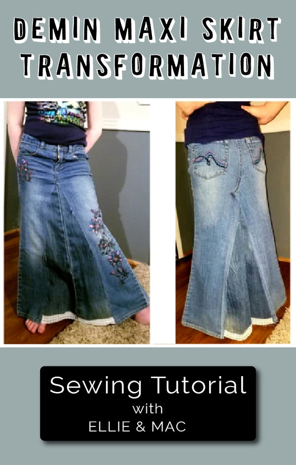 Transforming your Jeans into a Maxi Masterpiece
