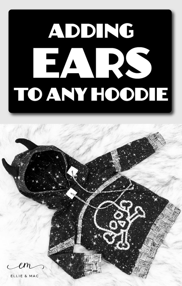 Adding Ears to any Hoodie!