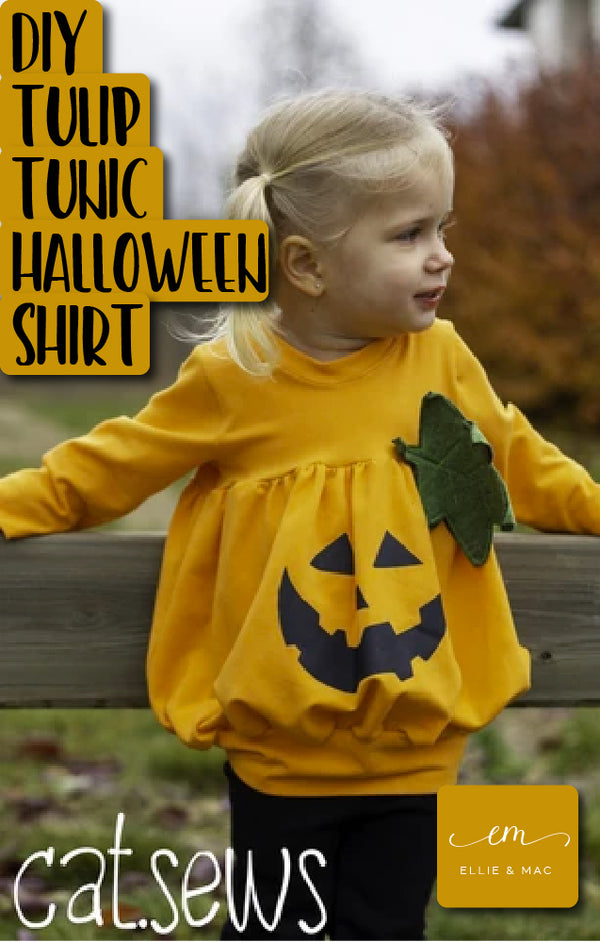 DIY Halloween Shirt: Using a Freezer Paper Stencil