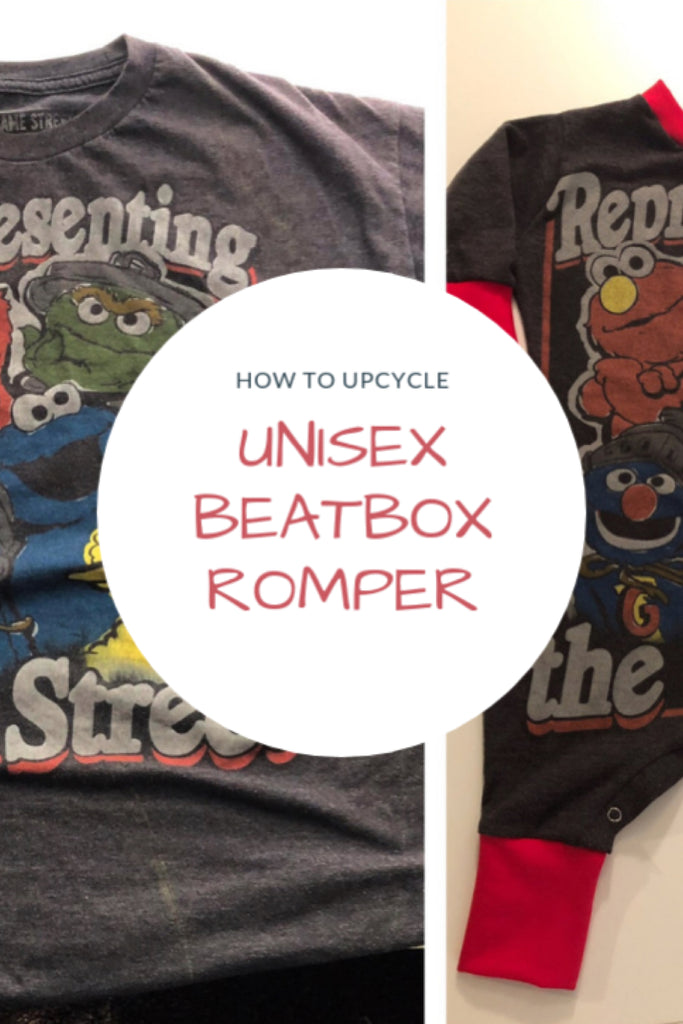 How to upcycle an Unisex Beatbox Romper