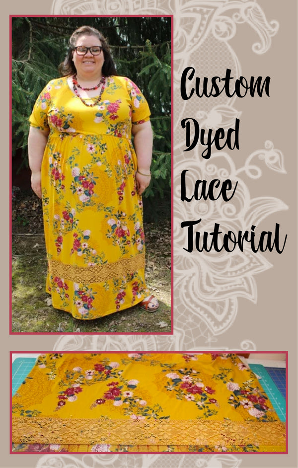 How to Hand Dye Lace