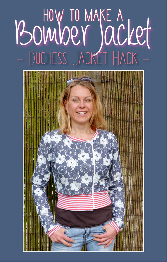 How to use the Duchess Pattern for making a Bomberjacket