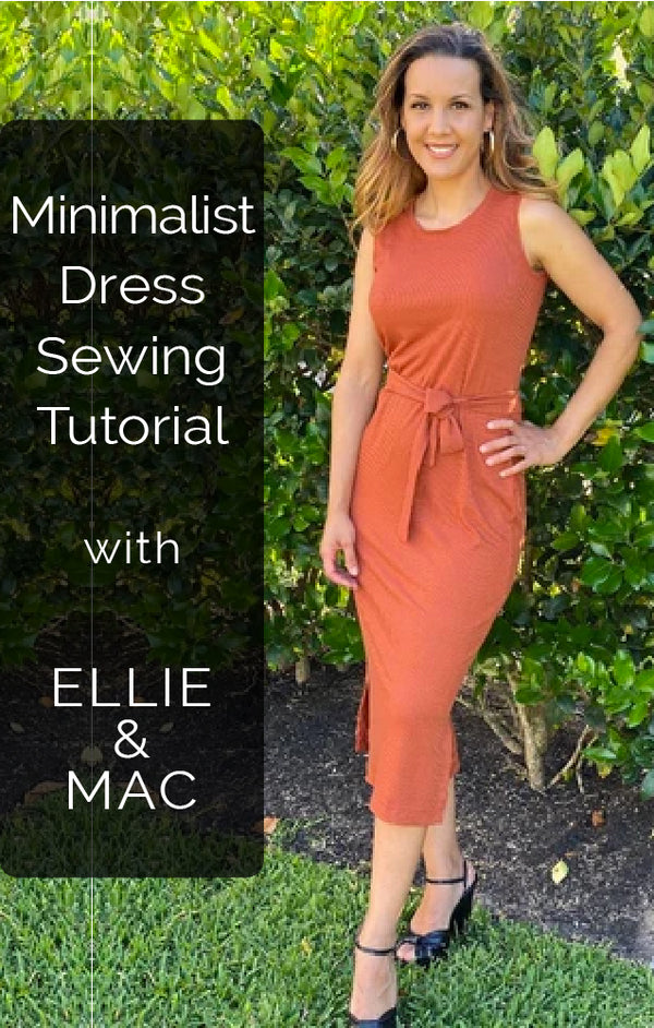 Sewing the Minimalist Style Dress