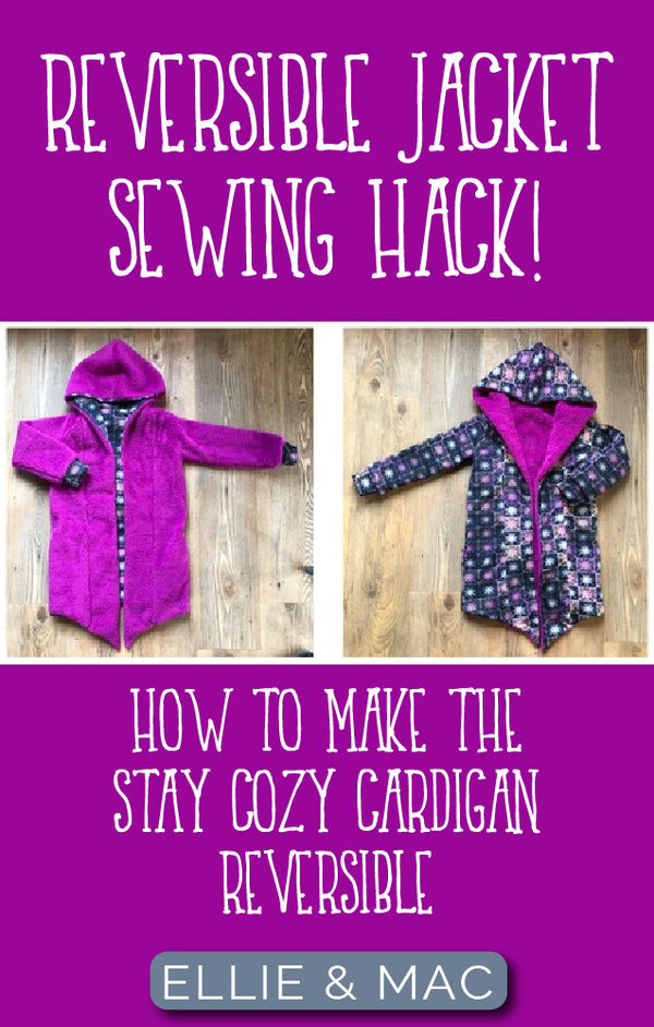 How To Make The Stay Cozy Cardigan Reversible