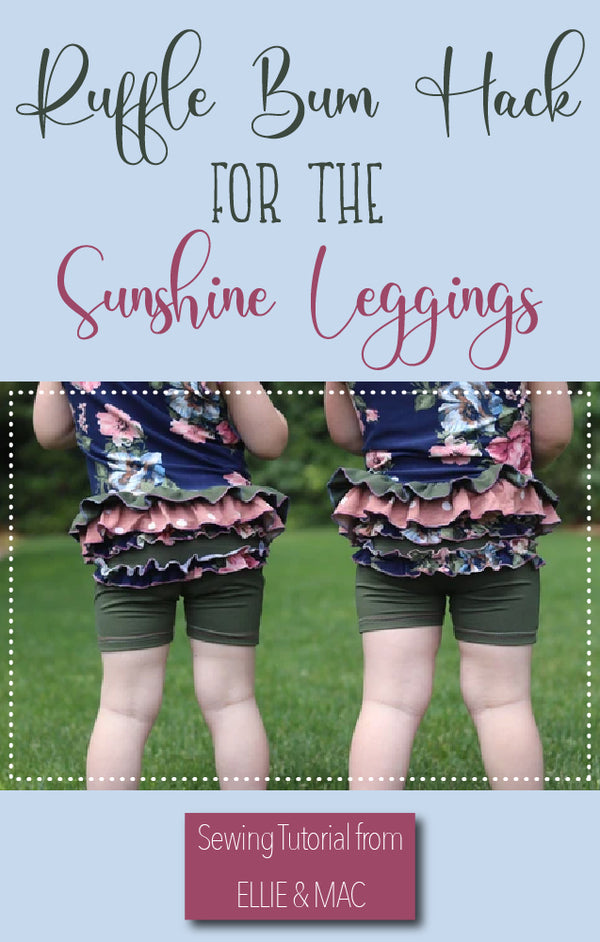 Sunshine Leggings Ruffled Bum Hack