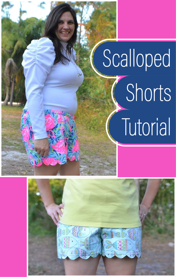 Create Your Own Scalloped Shorts!