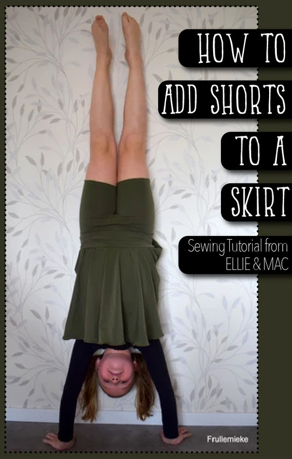How to Add Shorts to a Skirt
