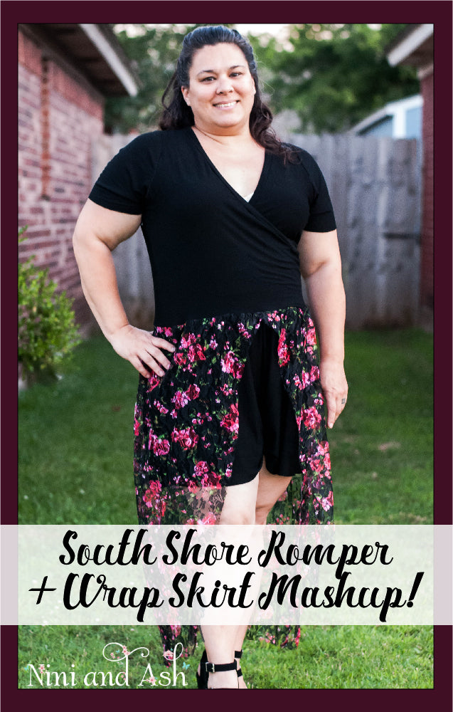 South Shore Romper & Wrap Skirt Pattern MashUp