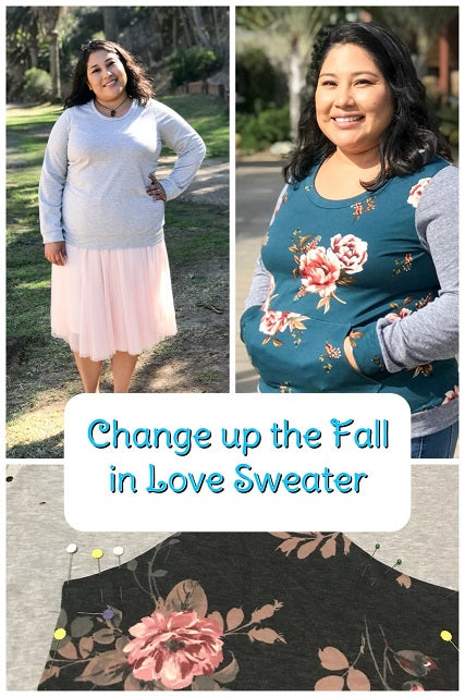 Change up the Fall In Love Sweater