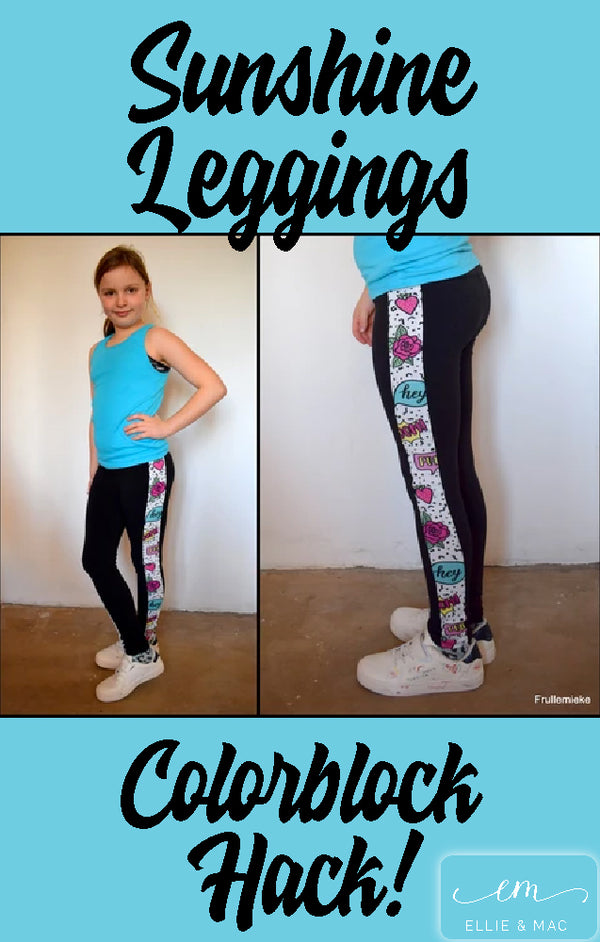 Sunshine Leggings Colorblock Hack