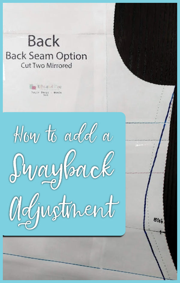 How to do a Sway Back Adjustment