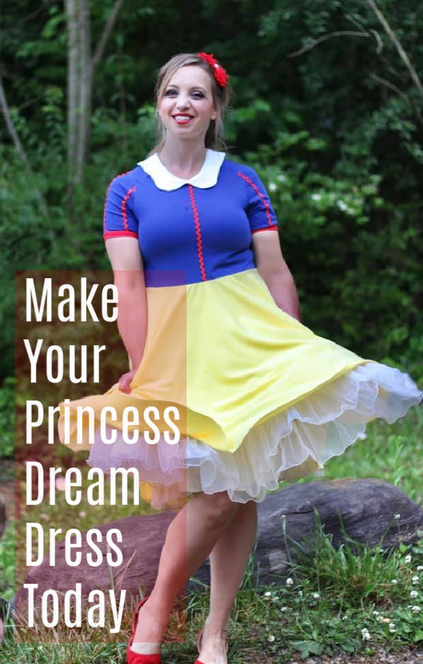 Magical Princess Costume Sewing Pattern Hacks