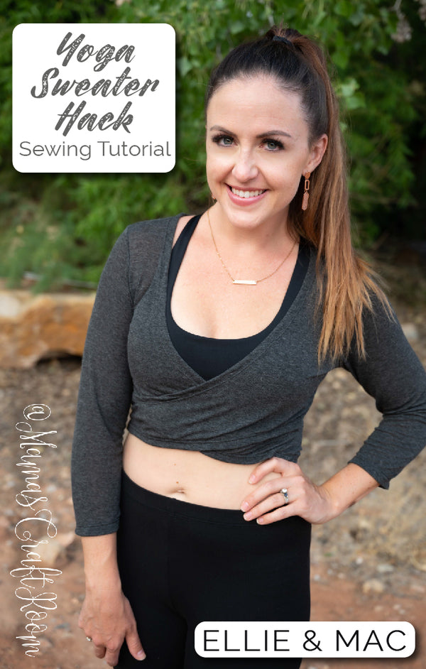 Yoga Wrap Sweater Hack