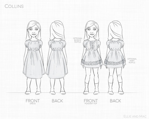 Collins Dress Pattern