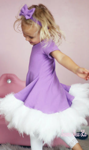 Daisy Duck Costume using Ellie and Mac Sewing Patterns 2