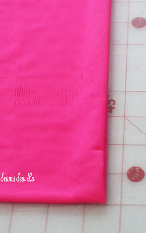 How To Add A Mesh Overlay To A Circle Skirt Fancy Nancy Costume Sewing Tutorial Pattern