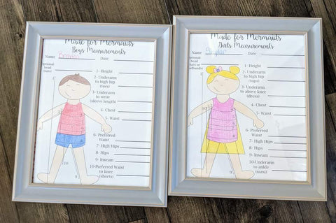 Printable Free Measurement Chart for Sewing Patterns Coloring Pages for Kids
