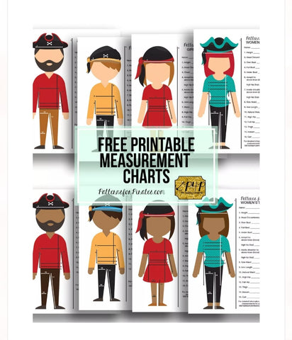 Printable Measurement Chart For Sewing Patterns