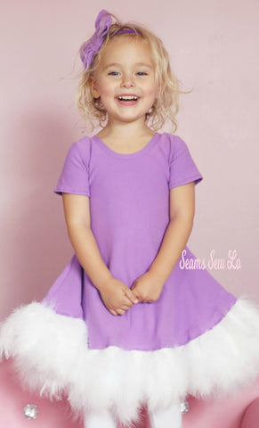 Daisy Duck Costume using Ellie and Mac Sewing Patterns