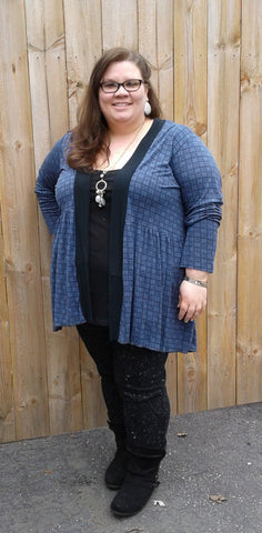 Be Mine Cardigan Sewing Pattern Hack