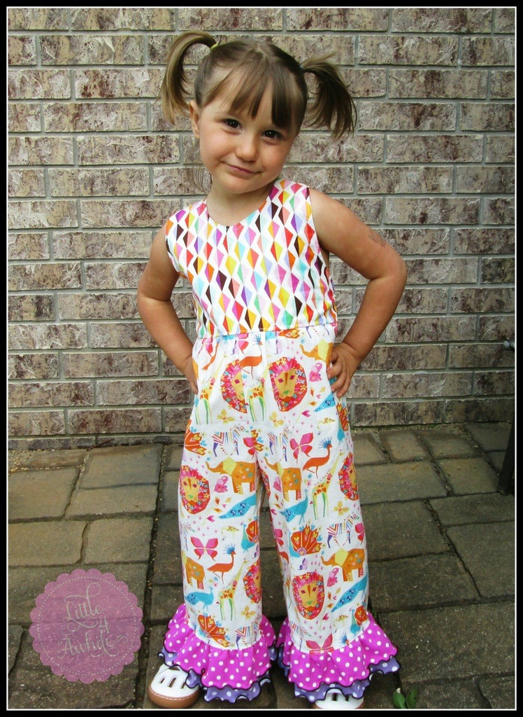 Girls Romper Halter Pattern
