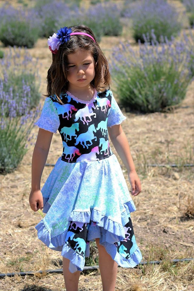 Girls Alyssa Tunic Pattern - Ellie and Mac, Digital (PDF) Sewing Patterns | USA, Canada, UK, Australia