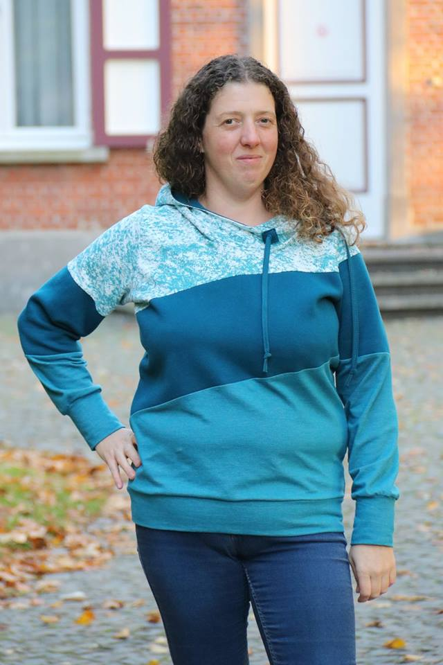 Adult Around the Block Hoodie Pattern