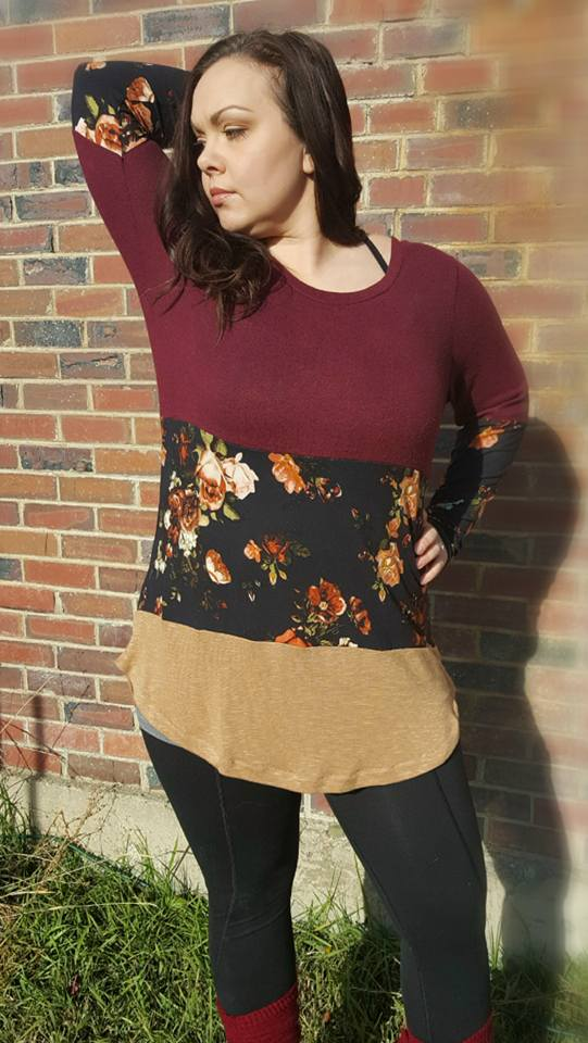 Autumn Spice Top Pattern