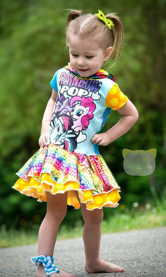 Girls Aubrey Dress Pattern - Ellie and Mac, Digital (PDF) Sewing Patterns | USA, Canada, UK, Australia