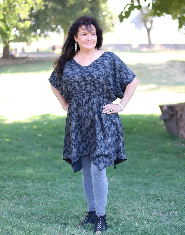 Batwing Tunic & Dress Pattern