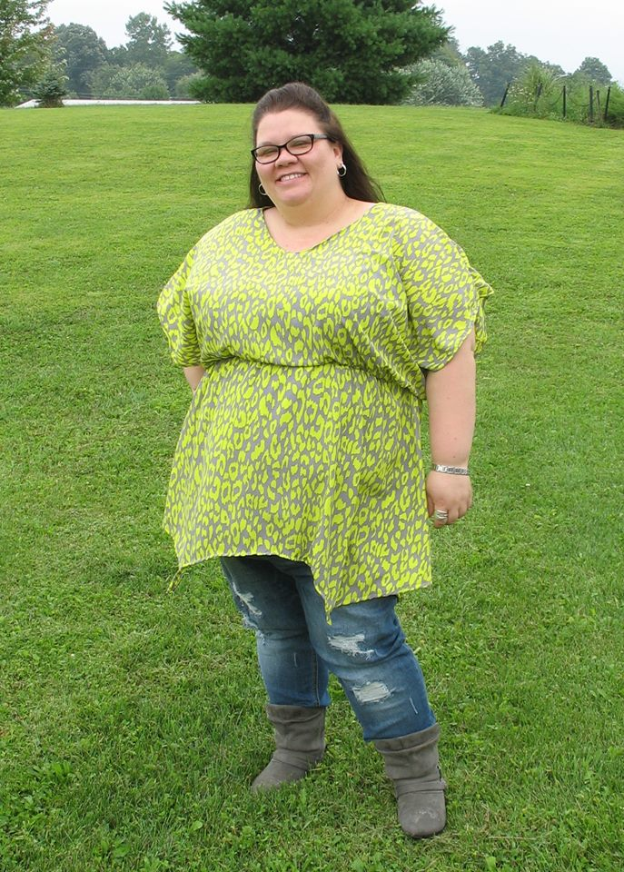 Women's Batwing Tunic & Dress Pattern