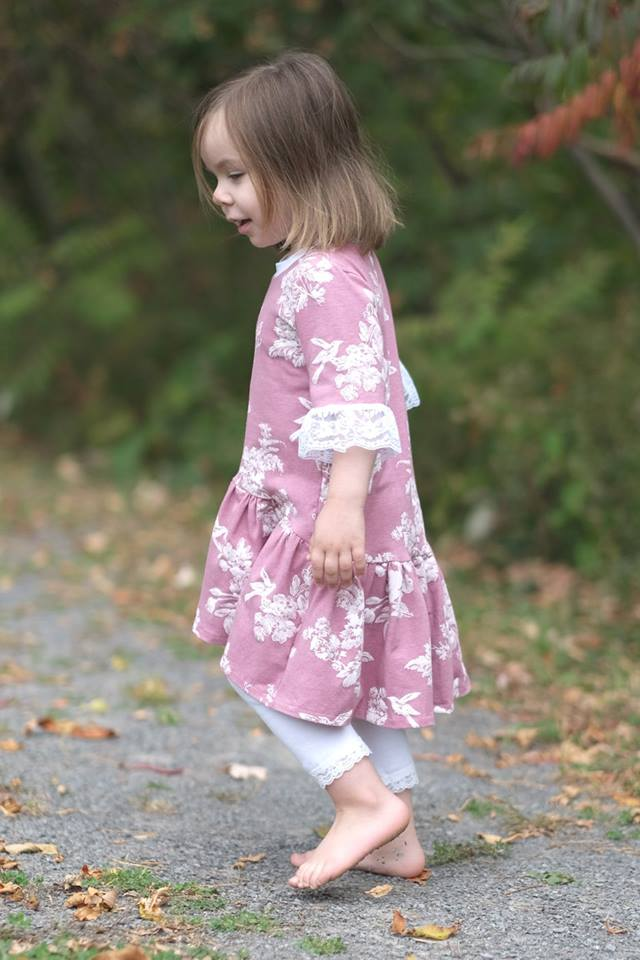 Girl's Be Adventurous Tunic Pattern - Ellie and Mac, Digital (PDF) Sewing Patterns | USA, Canada, UK, Australia