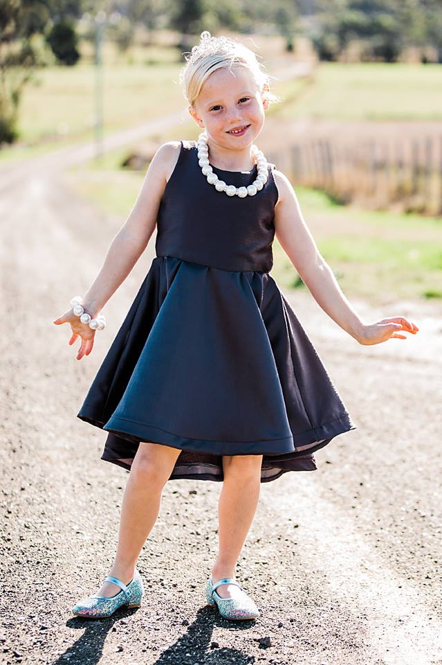 Girl's Be Amazing Top & Dress Pattern - Ellie and Mac, Digital (PDF) Sewing Patterns | USA, Canada, UK, Australia